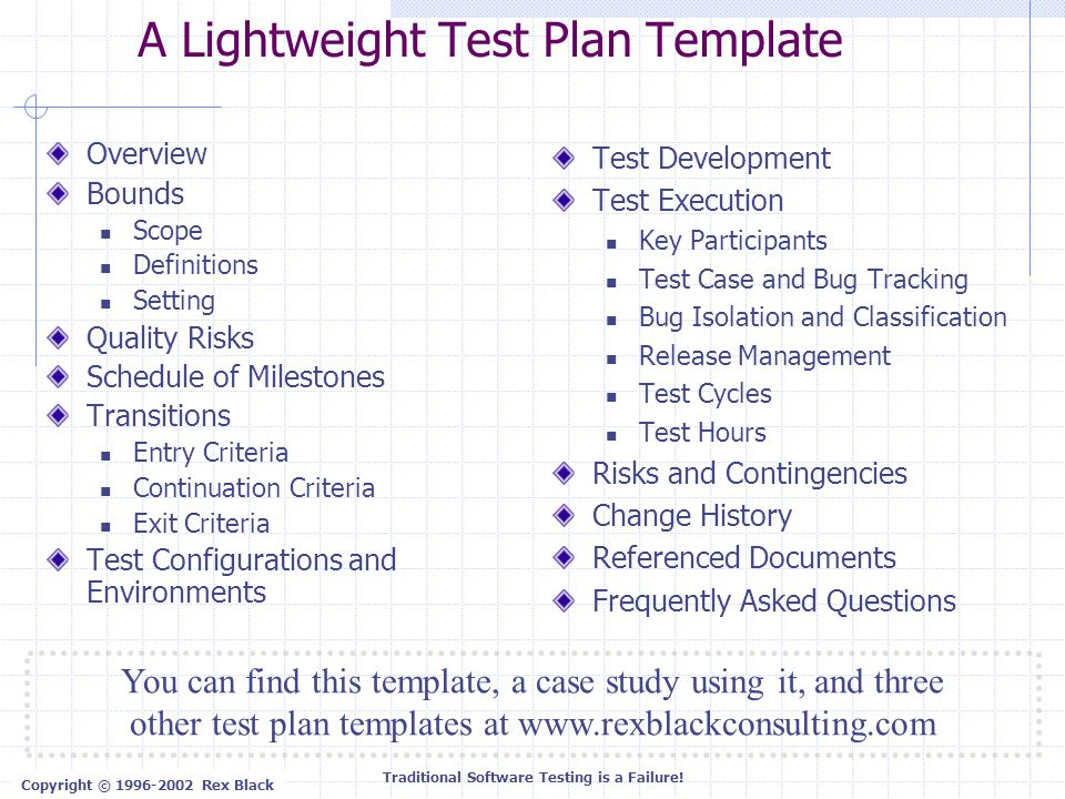 software testing schedule template - traditional software testing is a failure ppt download