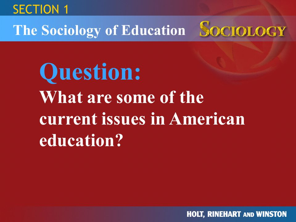 essays on educational issues Examples of current educational issues how to find the latest issues in education discussing educational issues in your teaching interview current educational issues author emma knowles, editor posted july, 2018 on this page why you need to be aware of educational issues.