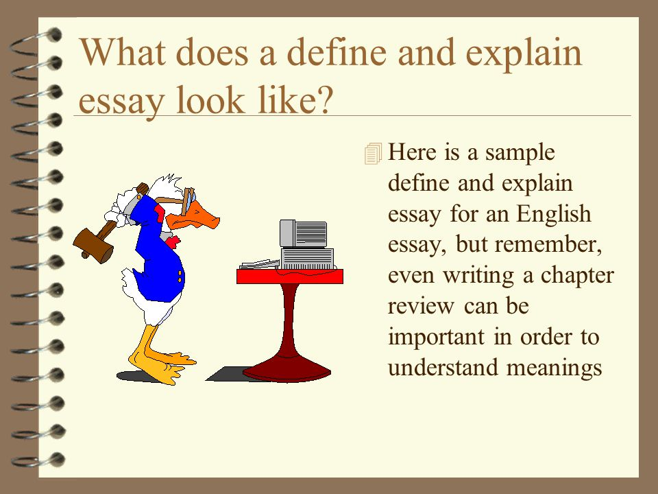 define academic essay writing Freebase (400 / 1 vote) rate this definition: academic writing in academia, writing and publishing is conducted in several sets of forms and genres this is a list of genres of academic writing.