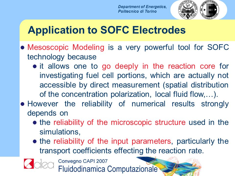 Application to SOFC Electrodes