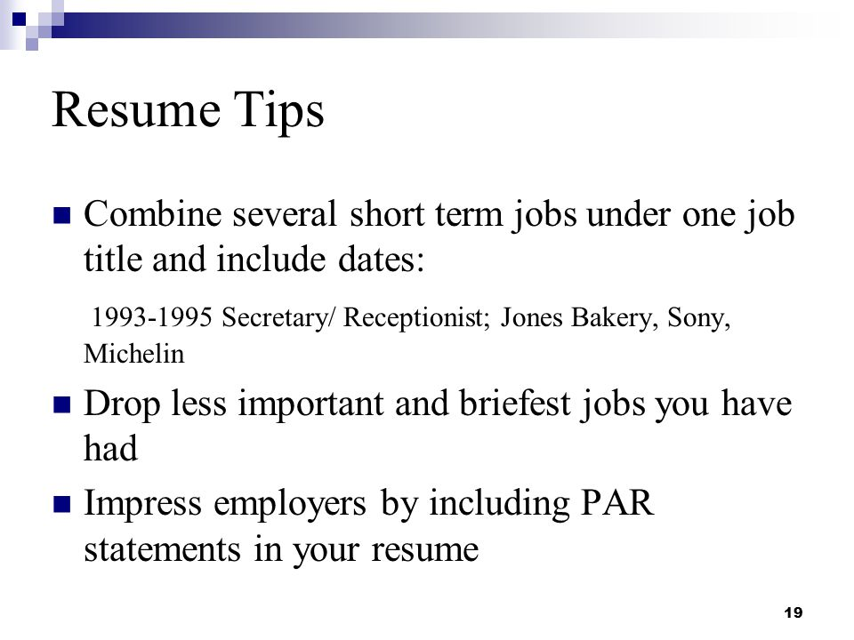 Resume Writing and Interviewing Skillsppt download