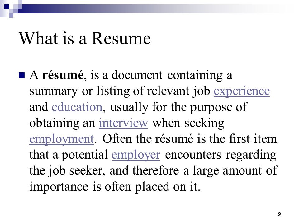 resume writing and interviewing skills ppt