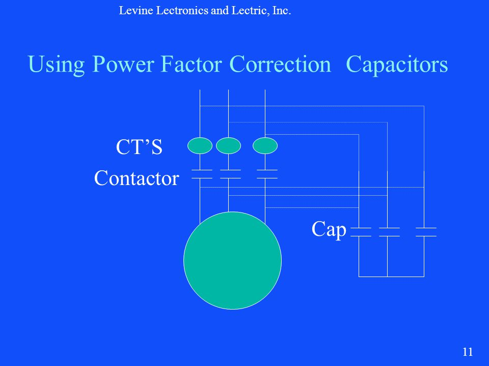 Motor protection for this millennium ppt video online for Power factor correction capacitors for motors