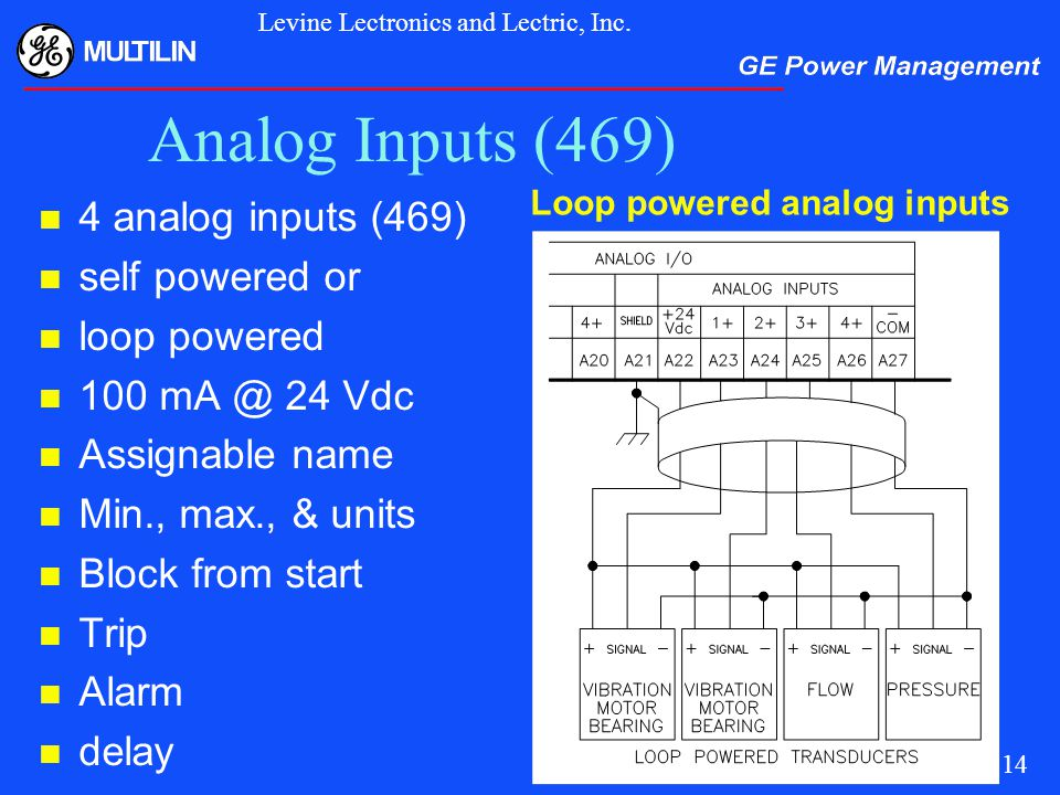 Analog+Inputs+%28469%29+4+analog+inputs+%28469%29+self+powered+or+loop+powered motor protection for this millennium ppt video online download multilin 469 wiring diagram at bayanpartner.co
