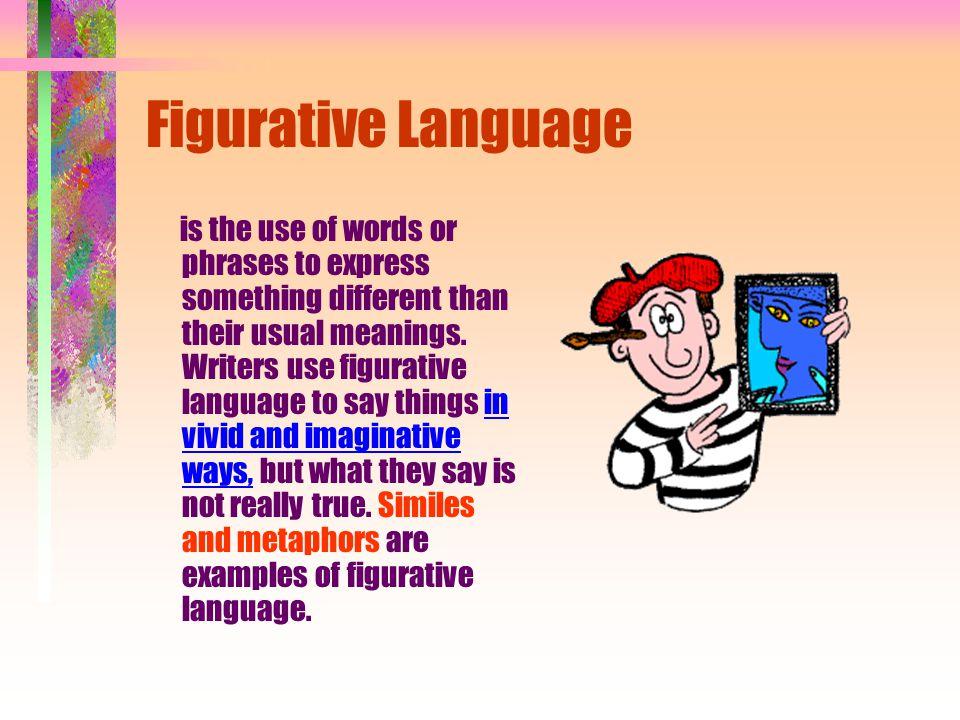 Figurative Language Similes Metaphors Personification Hyperbole