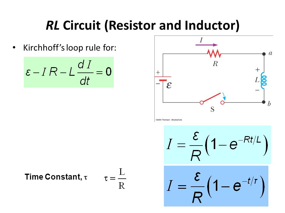 RL Circuit (Resistor and Inductor)