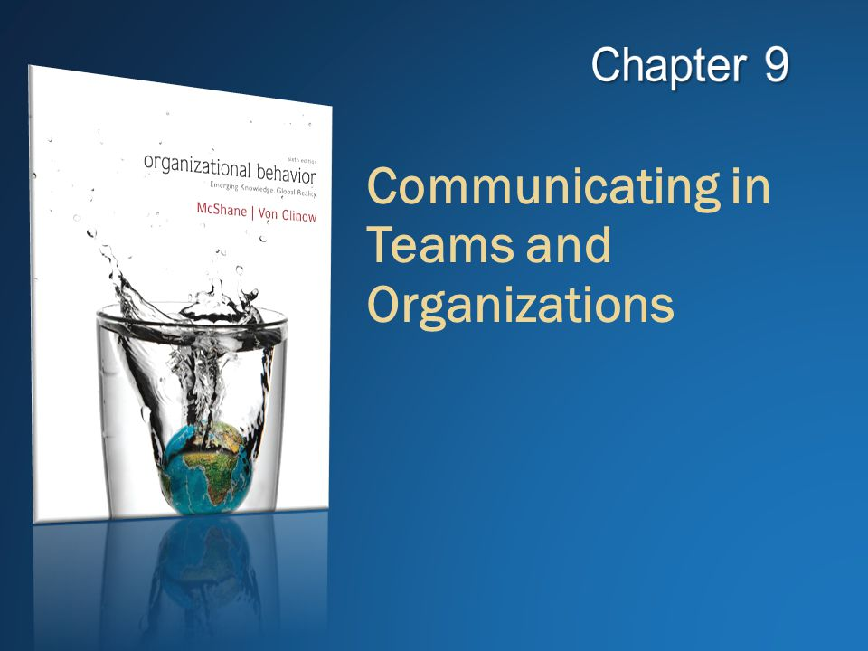 communicating in teams and organizations This is all well and good, but a team that doesn't communicate well is like an engine that has been broken down into its separate parts when employees are engaged, they speak more positively about the organization, they stay longer, thus increasing retention rates, and are more motivated within their.