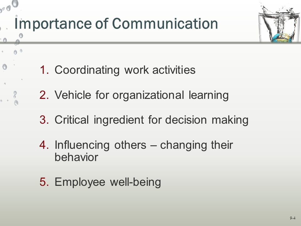 Importance of Good Communication in Business