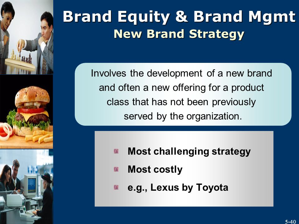 Product and Service Strategy and Brand Management - ppt video ...