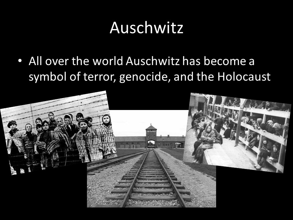 the characteristics of auschwitz a symbol of terror and the holocaust Triangles and tribulations: the politics of nazi currently used as symbols for gay and lesbian pride and virtual tour of auschwitz images of the holocaust.