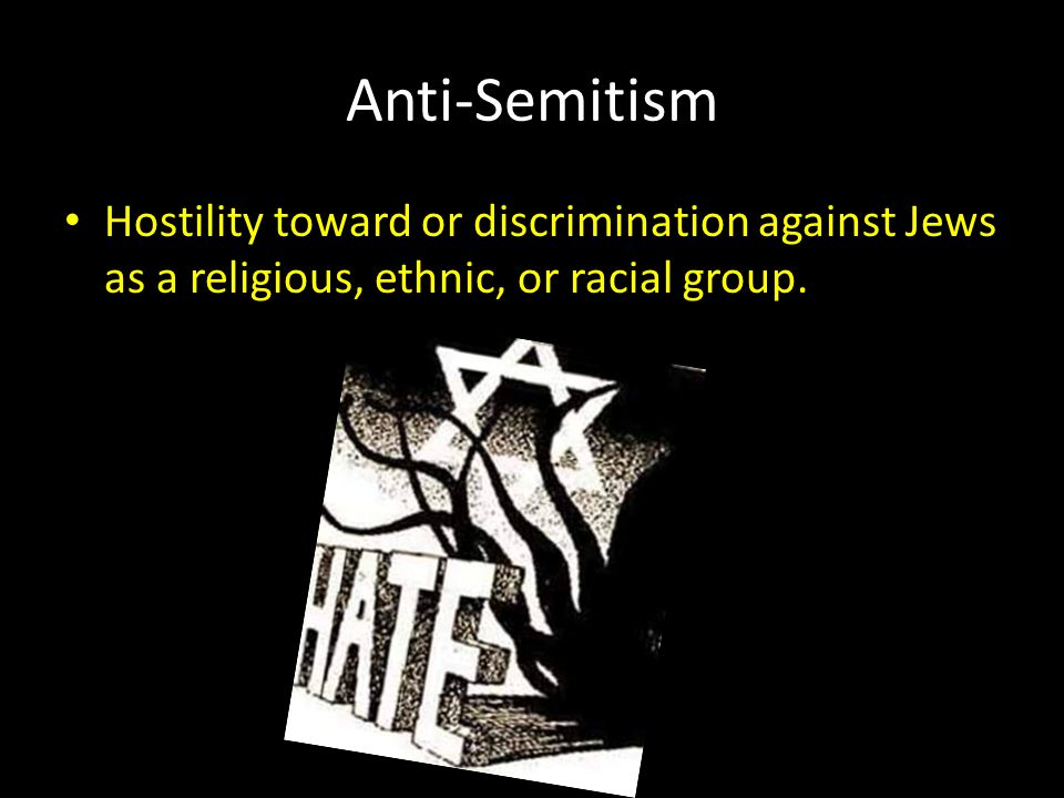 the holocaust hitlers discrimination against the jews How and why did hitler's treatment of the jews change between 1933 and crime of the holocaust directly against the discrimination of jews and.