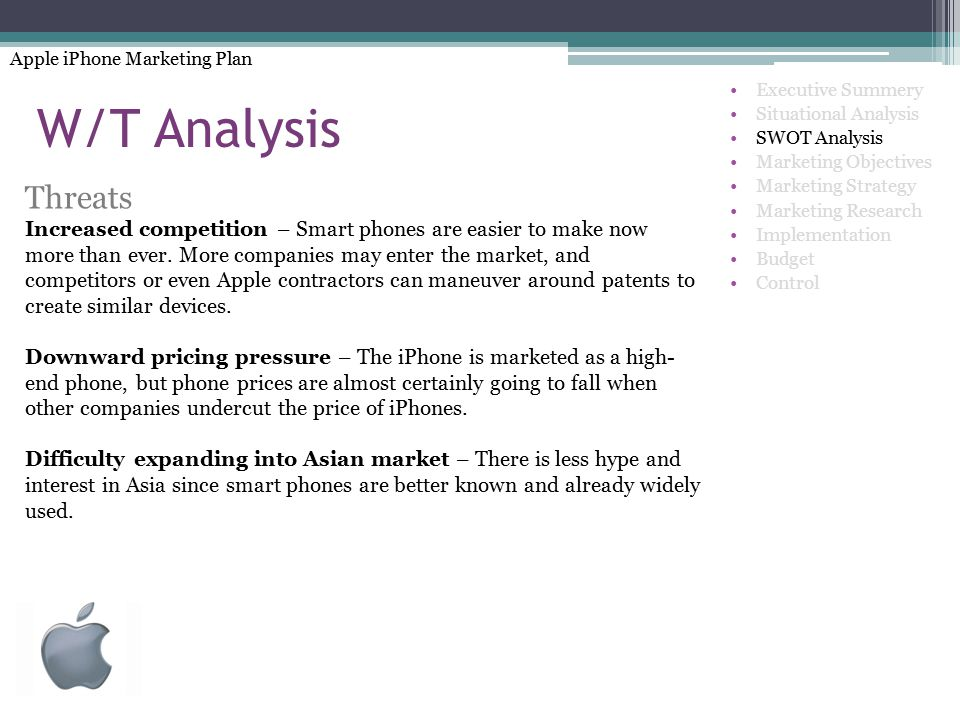 Apple Iphone Marketing Plan  Ppt Video Online Download