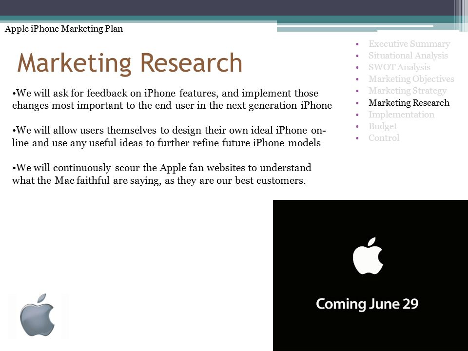Apple marketing plan individual essay