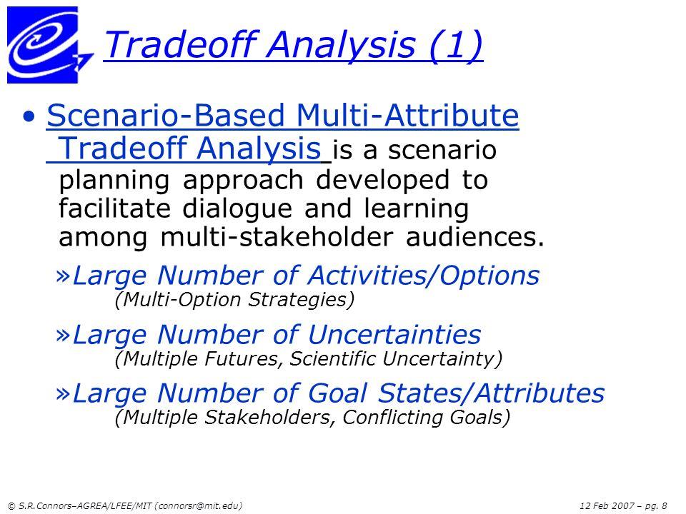 Tradeoff Analysis (1)