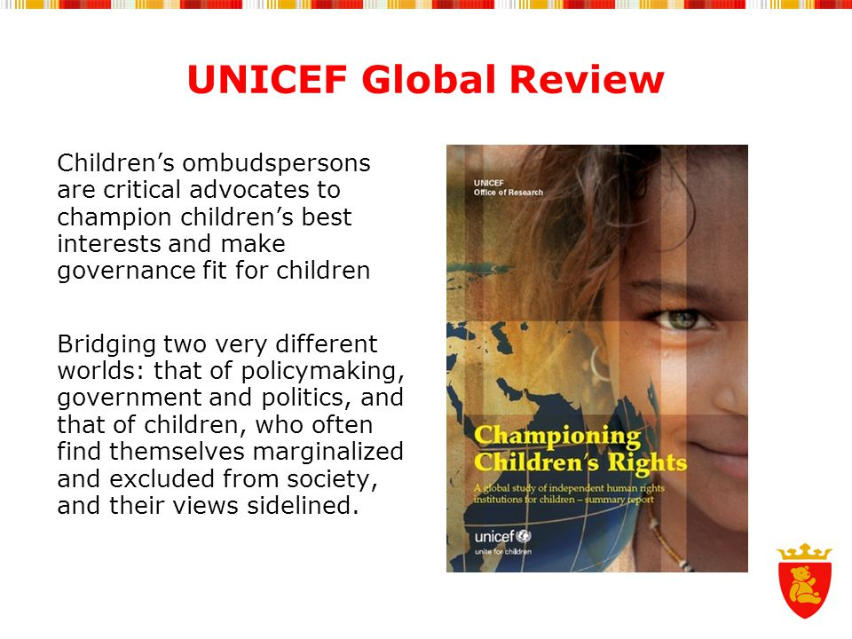 UNICEF Global Review