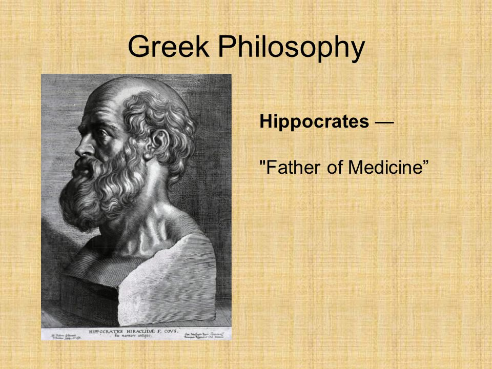 greek philosopher hippocrates essay Collections of essays about presocratic philosophy a history of greek philosophy ed 2003 the cambridge companion to greek and roman philosophy.