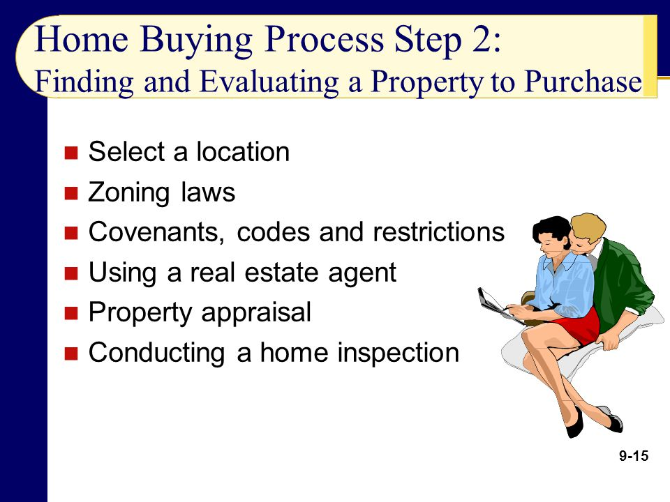 Home Buying Process Step 2: Finding and Evaluating a Property to Purchase