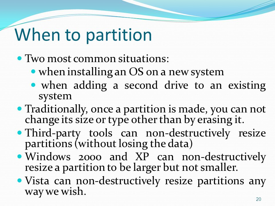 Implementing hard drives chapter ppt video online download for Most common window size
