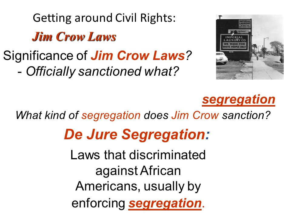 Chapter 5 - Civil Rights - Learning objectives: - ppt download