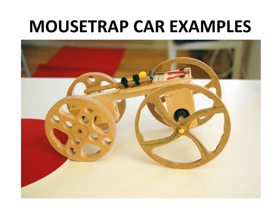 Mousetrap race car essay
