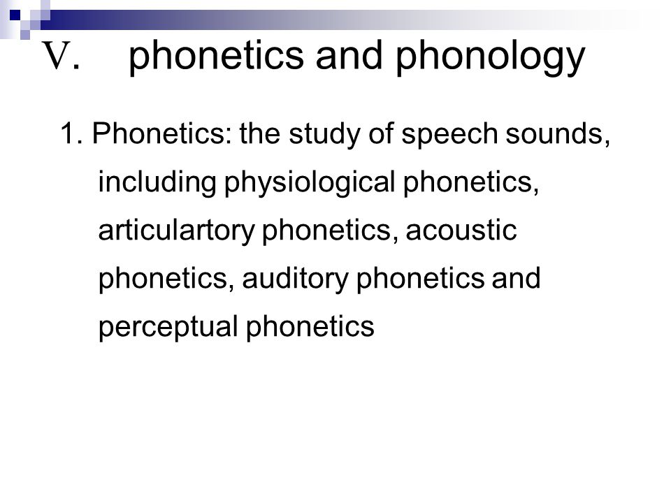 phonetics and the description of speech sounds english language essay Phonetics definition: 1 the study of the sounds made by the human voice in speech2 the study of the sounds made by the human voice in speech learn more cambridge dictionary  these examples of phonetics are from the cambridge english corpus and from sources on the web.