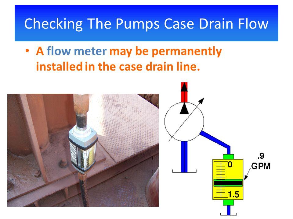 hydraulic pump case flow pdf