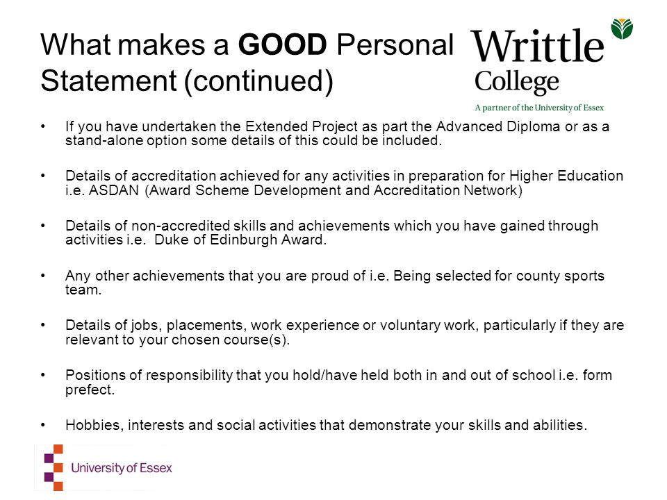 A Qualified Personal Statement Help at an Affordable Price