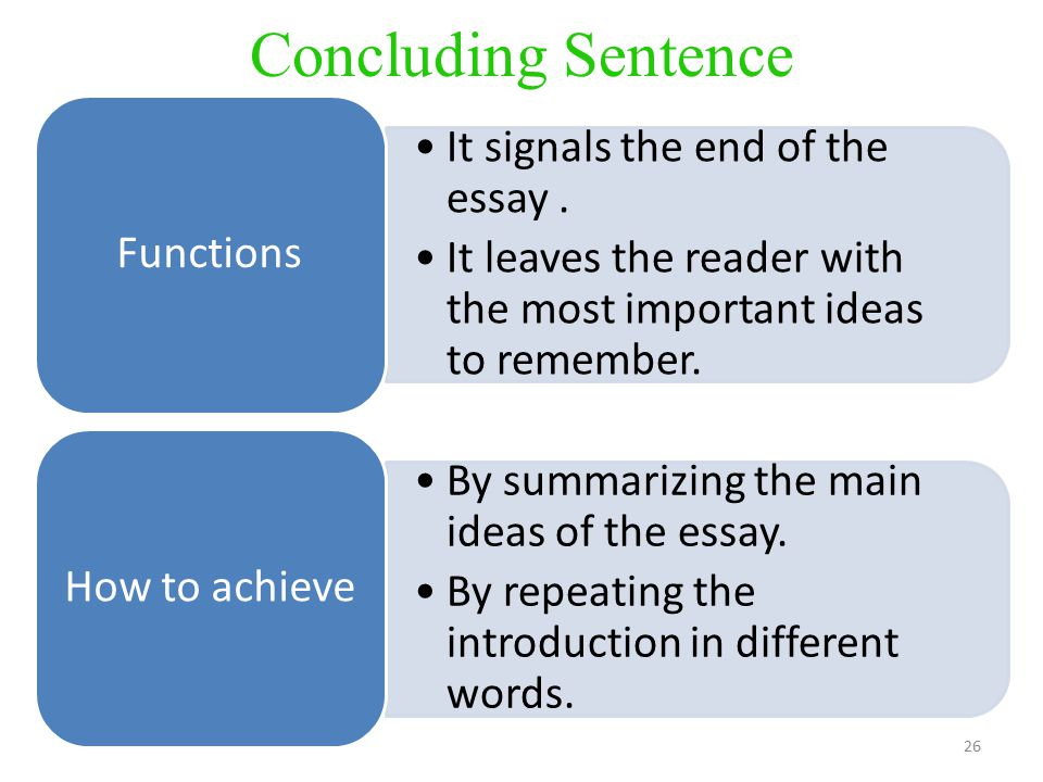 what are the functions of a how to essay