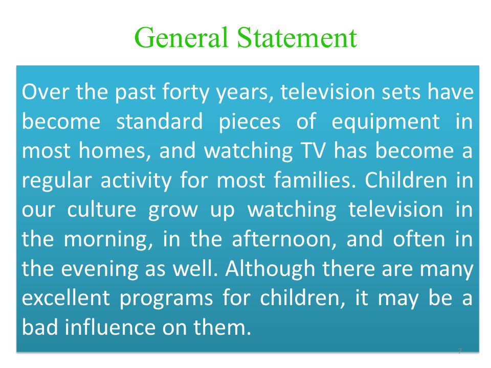 television it worst essay Television has changed over the years to include more and more programs that are inappropriate for children for tv to once again play a more positive role in children's lives, something must be done.