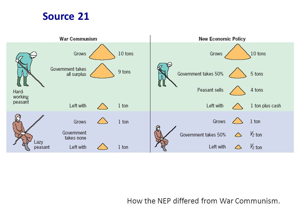 War Communism and the New Economic Policy Essay Sample