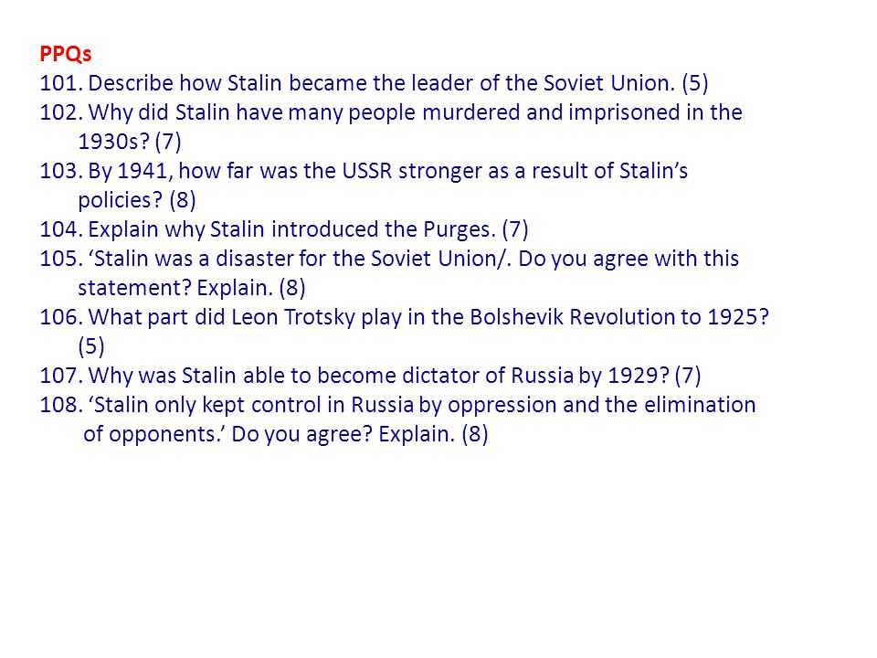 how far do stalin's fears and
