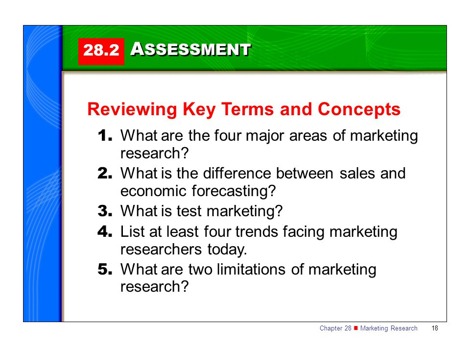 Marketing Exam Questions and Answers