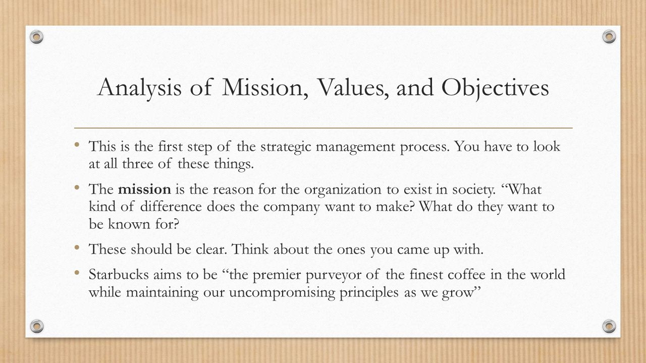 starbucks mission aims and objectives Our values with our partners, our coffee and our customers at our core, we  live these values: creating a culture of warmth and belonging, where everyone is .