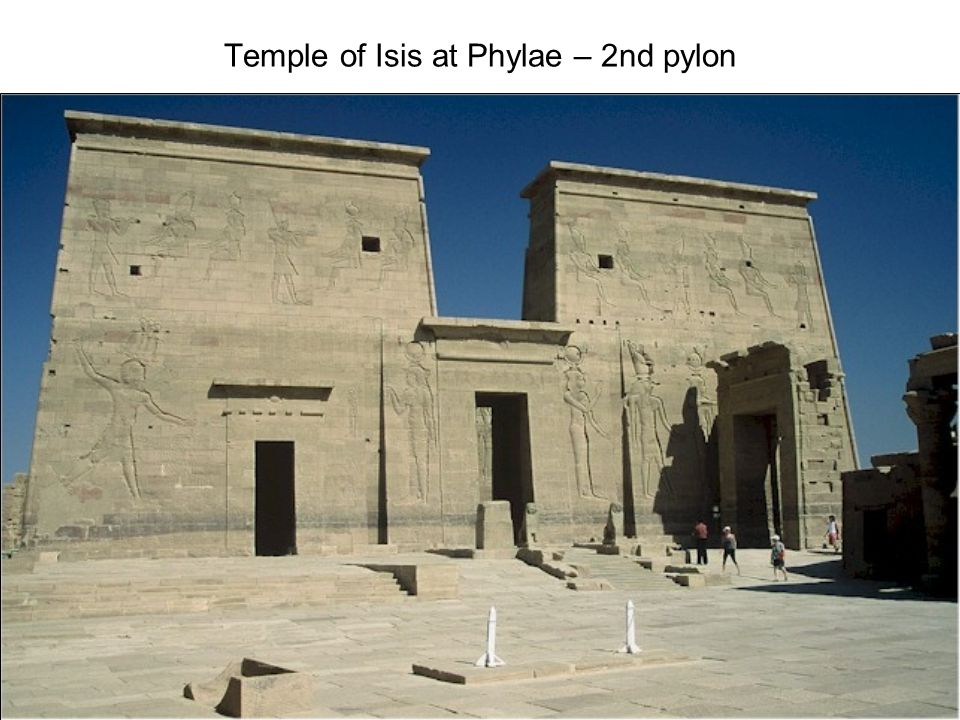 Temple of Isis at Phylae – 2nd pylon