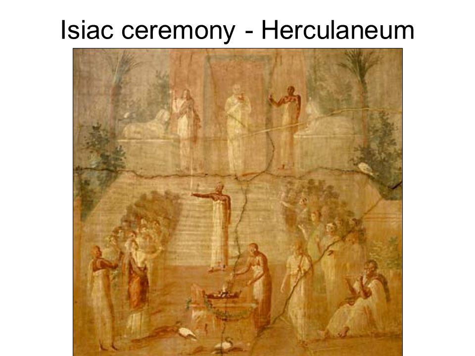 Isiac ceremony - Herculaneum