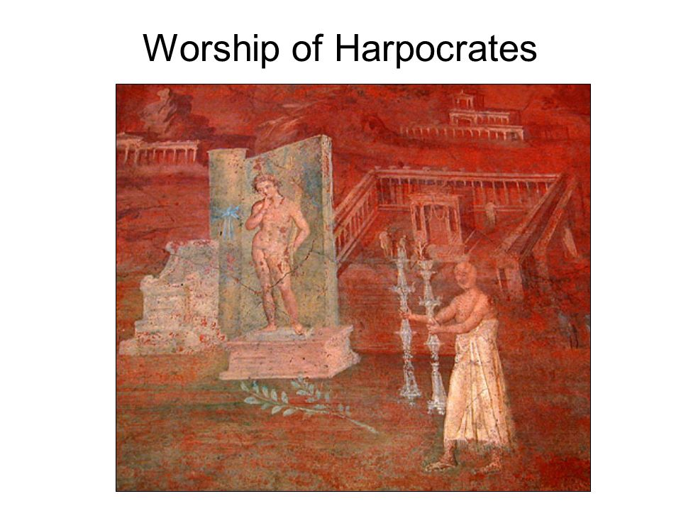 Worship of Harpocrates