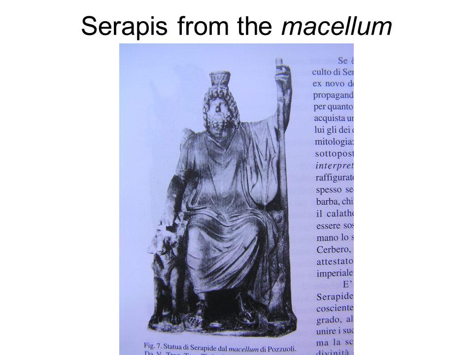 Serapis from the macellum
