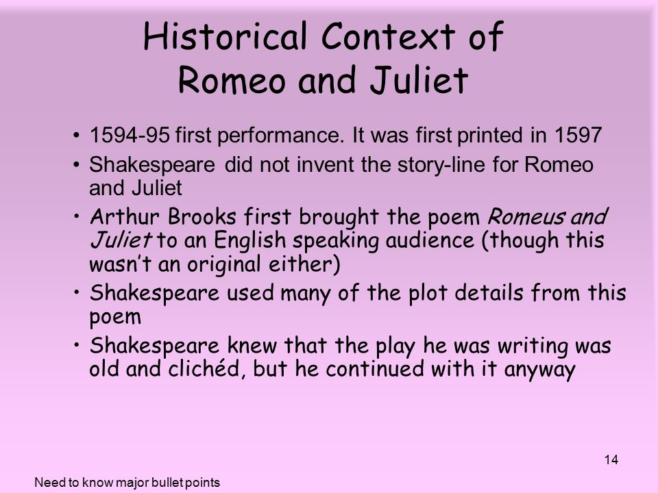 romeo and juliet context New here's a knowledge organiser for context from harwich and dovercourt high school: context-postcards-r-and-j overview: fate: people in shakespeare's time believed in astrology: that a.