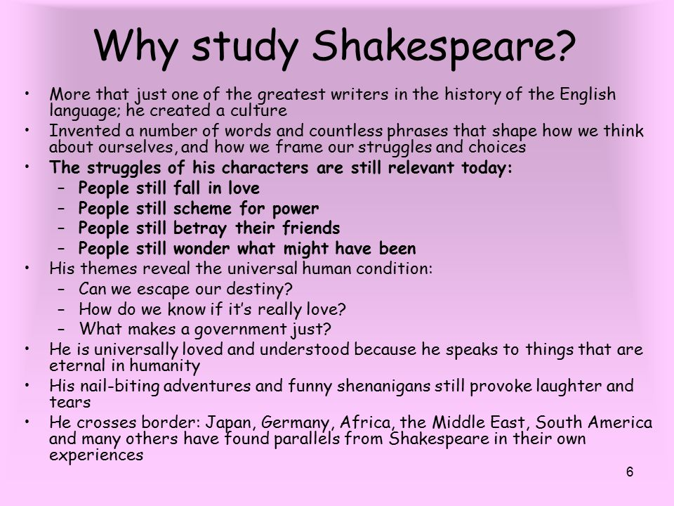 why do we read shakespeare Can ipads, social media apps, and digital reading platforms help  all i want  you to do for the first time through is hear it, he told the class.