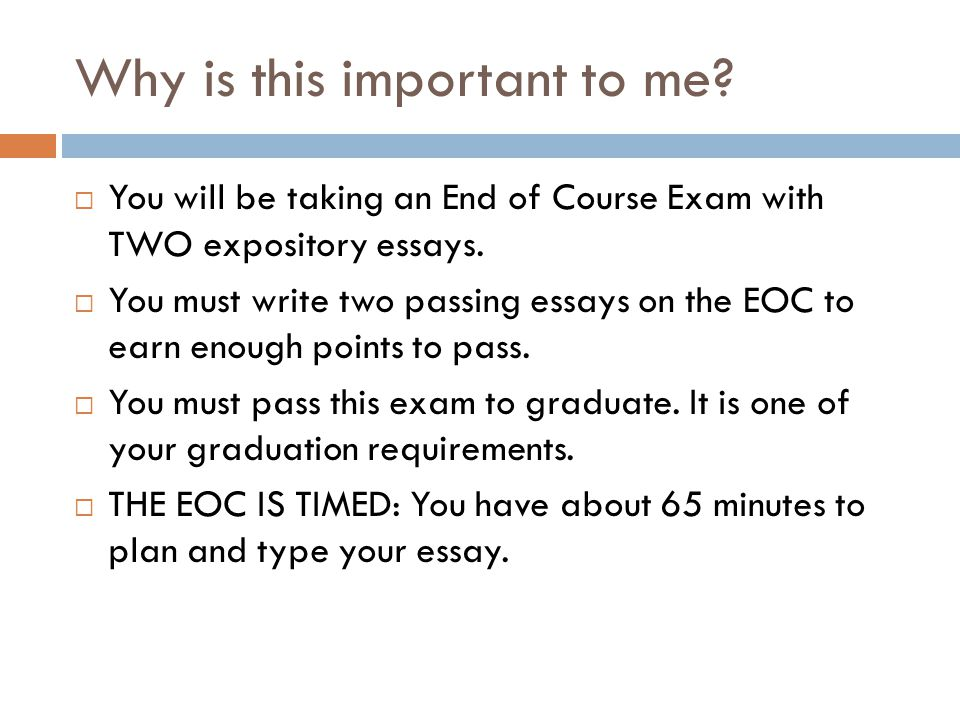 expository essay purpose to inform ppt video online  2 why