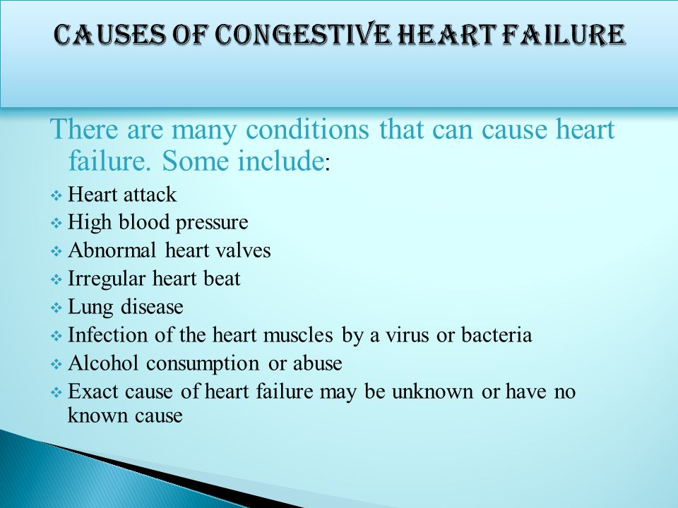 congestive heart failure research paper Pathophysiology of congestive heart failure is incredibly complex, making it difficult for modern health care practitioners to define its conditions and leading the need to further explore the process of congestive heart failure.