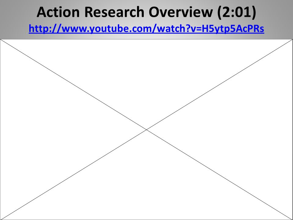 Action Research Overview (2:01)   youtube. com/watch