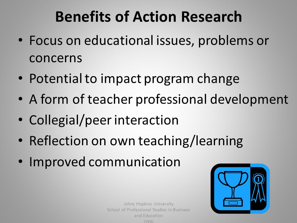 Benefits of Action Research