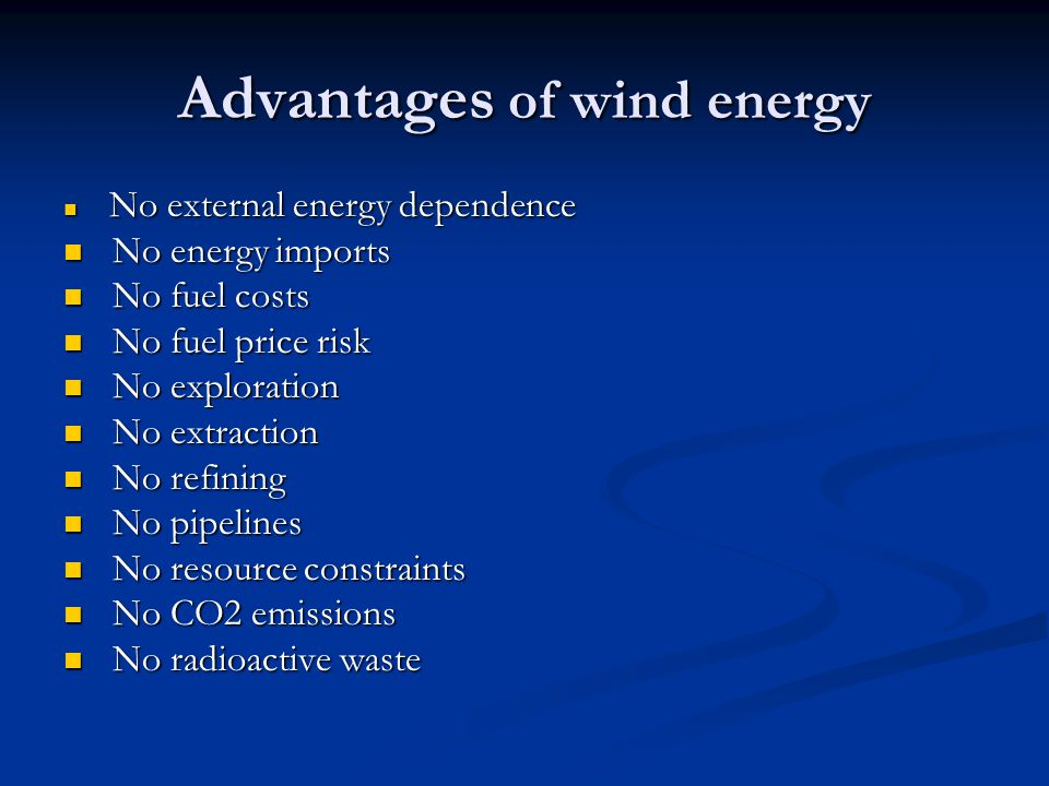 the benefits of using wind as a source of energy Like any other source of power generation, wind energy has  using wind energy to  a true environmentalist by heart ️ founded conserve energy future.