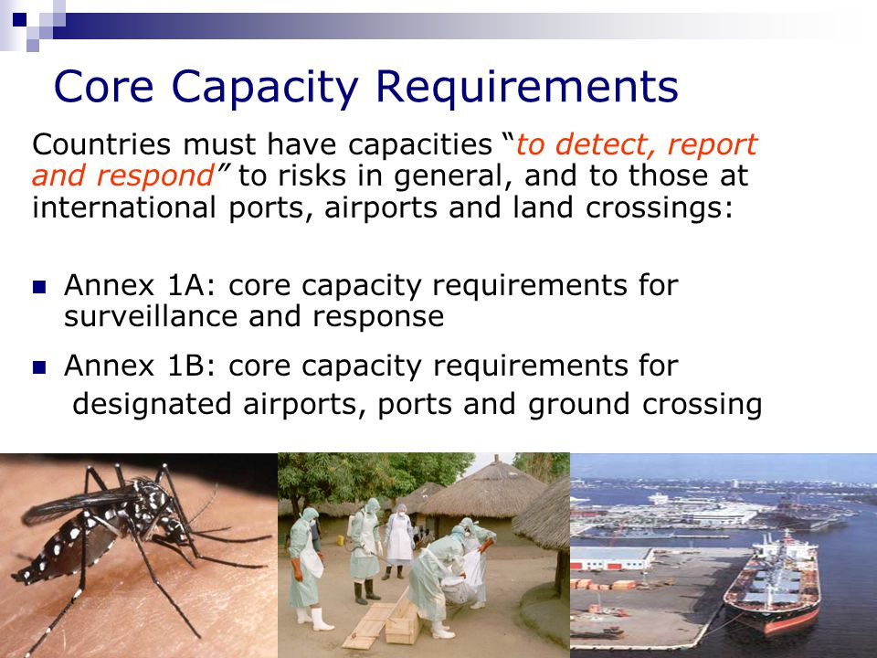Core Capacity Requirements