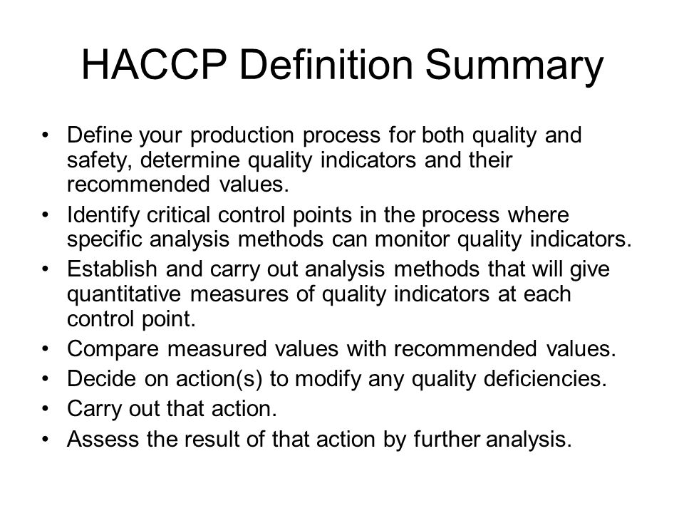 Haccp concepts in designing a winery sanitation quality - Haccp definition cuisine ...