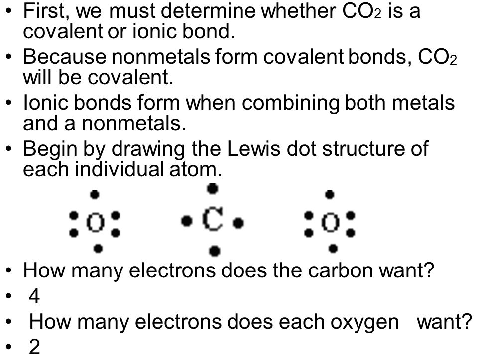 Form an ionic bond between the following - ppt video online download