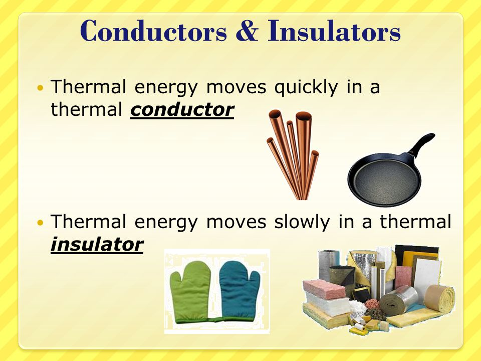 Examples Of Conductors Of Heat : The gallery for gt thermal insulators and conductors