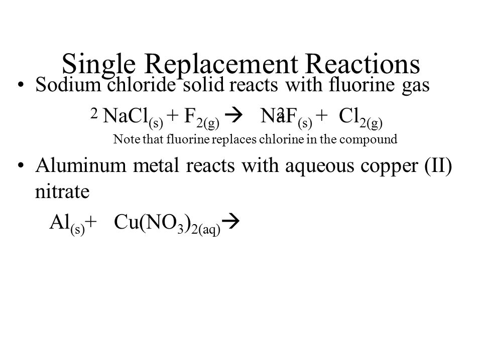 Chemical Reactions. - ppt download