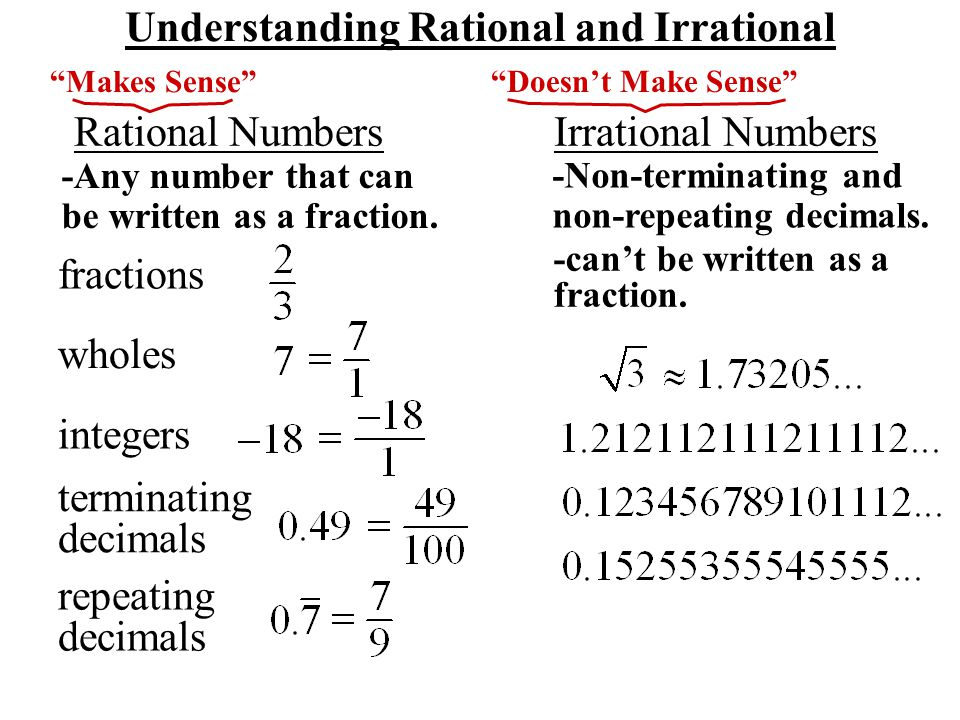 Lesson 9.2 The Real Number System - ppt video online download